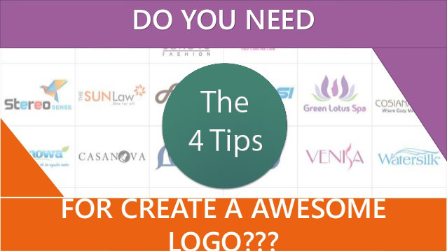 4 awesome logo tips