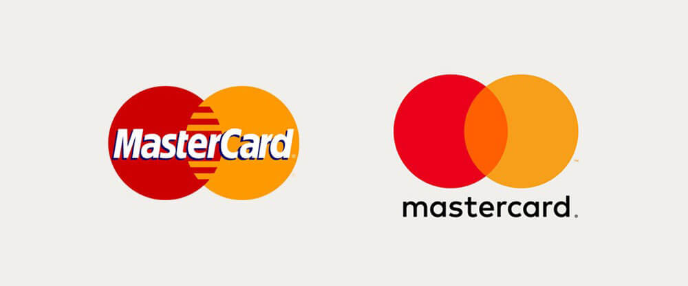 mastercard old new logo