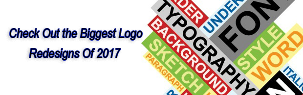 Check Out the Biggest Logo Redesigns Of 2017