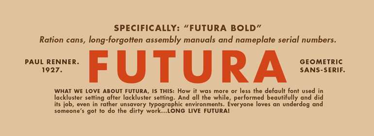 FUTUTRA font for resume