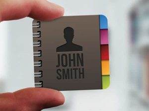 Creative Business Card One