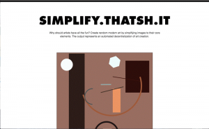Simplify Thatsh it